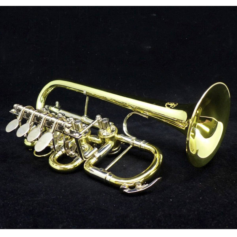 John Packer 154 Bb/A Rotary Piccolo Trumpet in Lacquer!