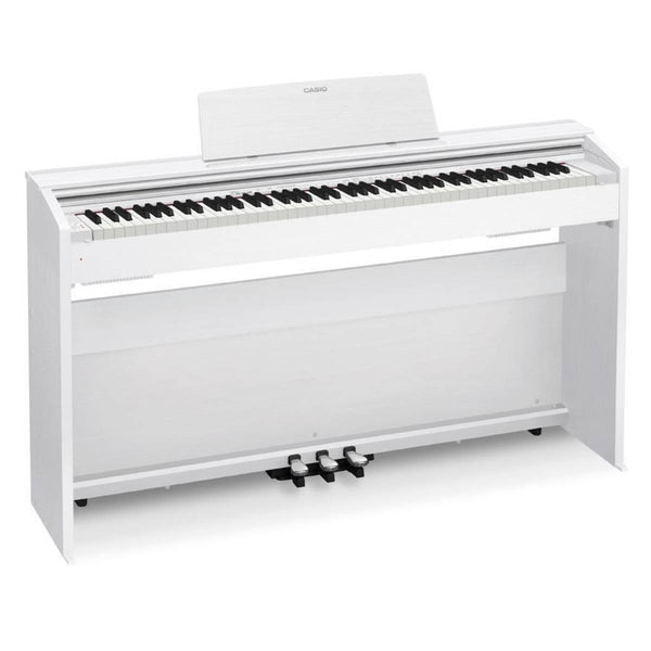 Casio Privia PX-870WE Digital Piano - White w/matching bench!