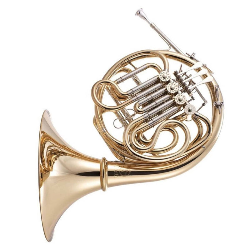 JP Rath Double French Horn Bb/F Gold Lacquer with Detachable Bell