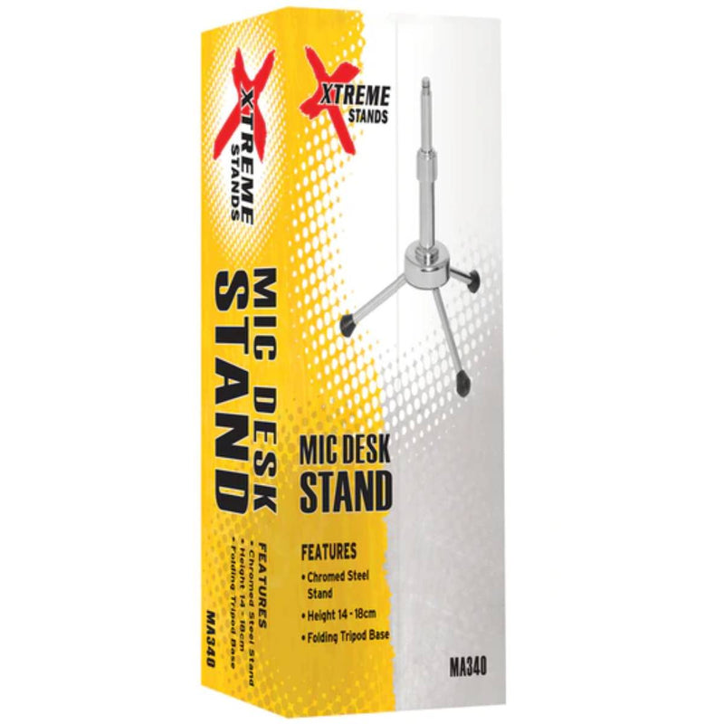 Xtreme MA340 Height Adjustable Desktop Microphone Stand