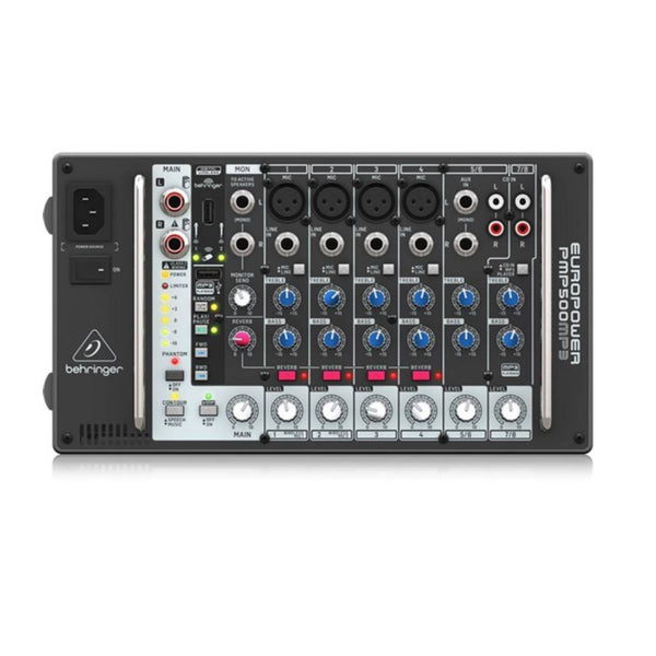 Behringer Europort PMP500MP3 500W Powered Mixer w/ FX