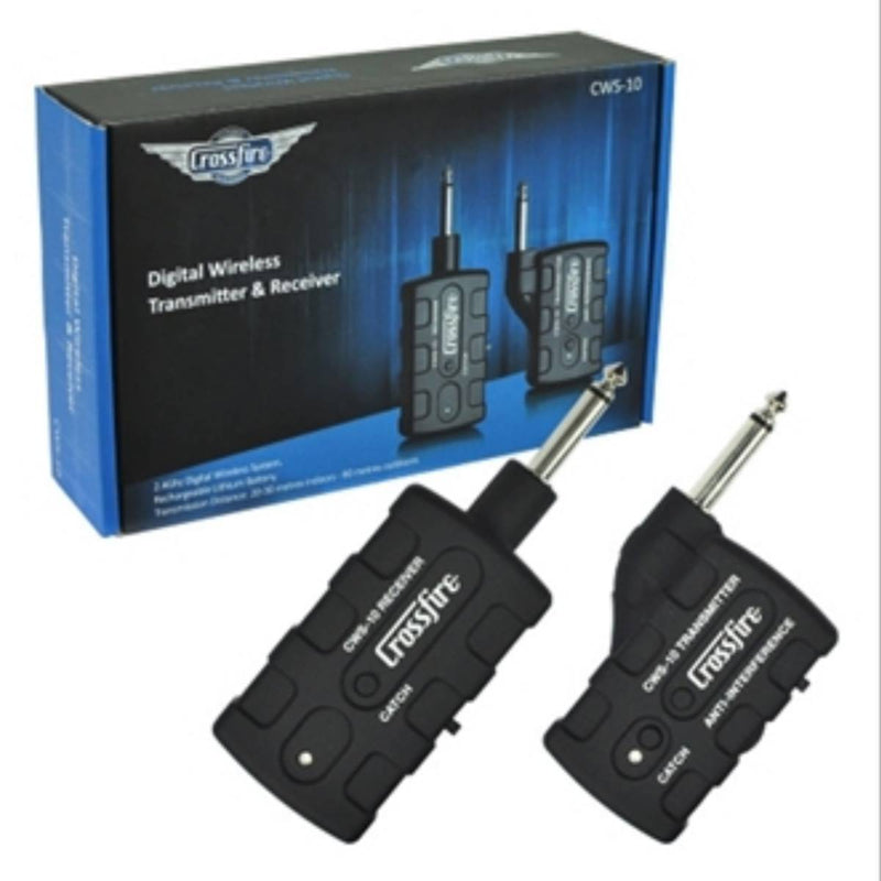 Crossfire CWS-10 Digital Wireless Transmitter & Receiver