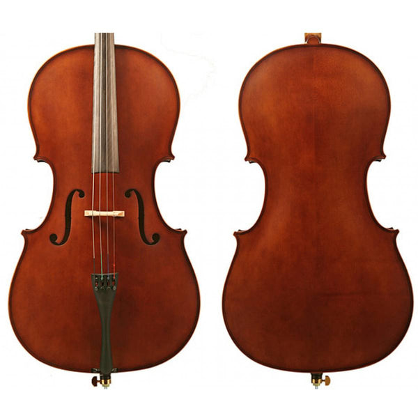 Enrico Student II Cello Outfit 1/8, 1/2 or 1/4 Size