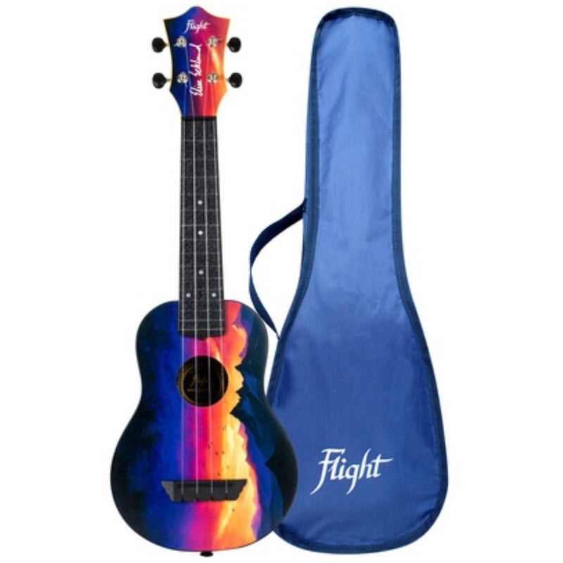 Flight TUS-EE SUNSET Elise Ecklund Travel Soprano Ukulele