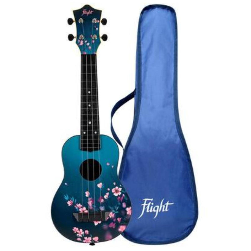Flight TUS25 SURF Travel Soprano Ukulele with Bag