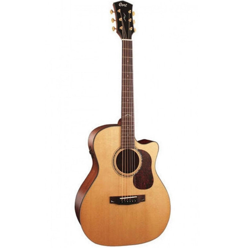 Cort Gold A6 Acoustic Electric Guitar - Natural C12205