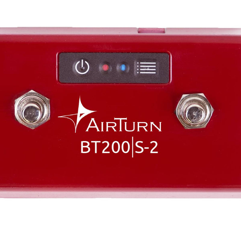AirTurn Bluetooth 2 Foot Switch Controller AT-BT200S-2
