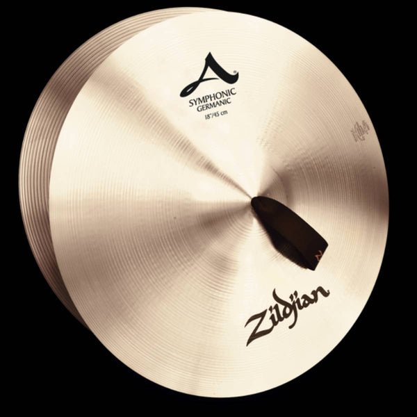 "Zildjian 20"" Symphonic French, Viennese or German – pair w/straps"