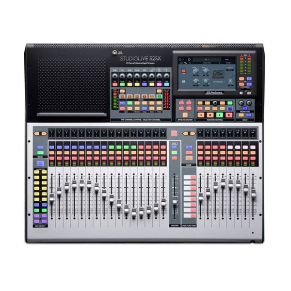 PreSonus StudioLive 32SX 32-Ch Digital Mixer & USB Audio Interface w/ Motorised Faders