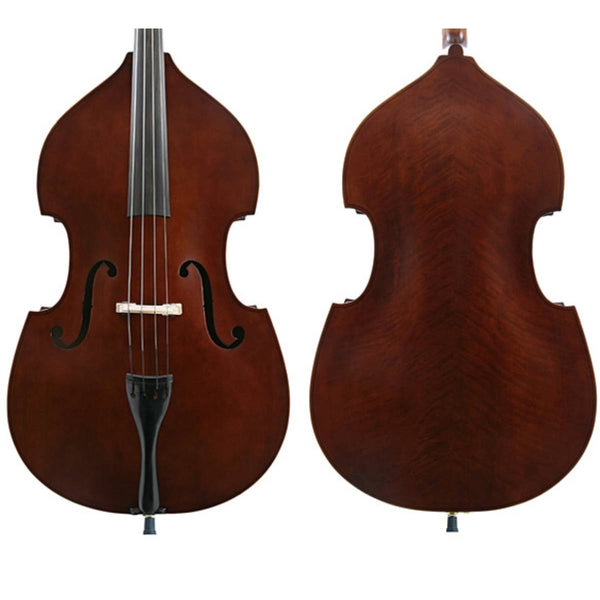 J Francis Double Bass Outfit-Ply Top - 3/4 Size
