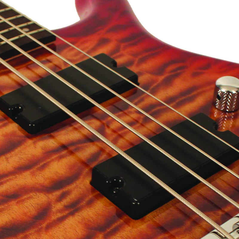 CORT ACTION DLX PLUS FGB BASS 4 DELUXE GUITAR FADE