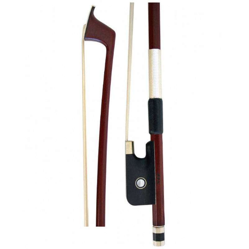Cello Bow - FPS Brazilwood. Ebony Frog 4/4 - 1/8 Size