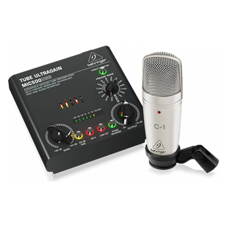 Behringer VOICE STUDIO Recording Bundle