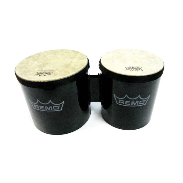 "REMO 6"" & 7"" BONGOS Pre-Tuned Remo Fiberskyn Heads, 5"" High Acousticon Shells"