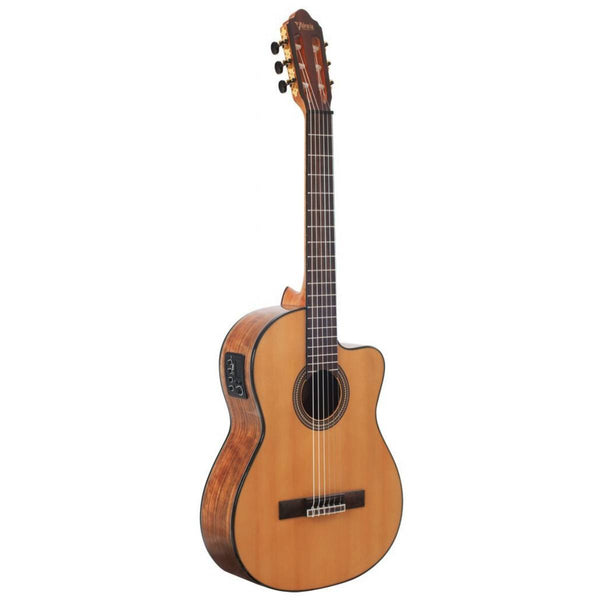Valencia VC564CE Classical Guitar - Cutaway, Electric Acoustic (Natural)
