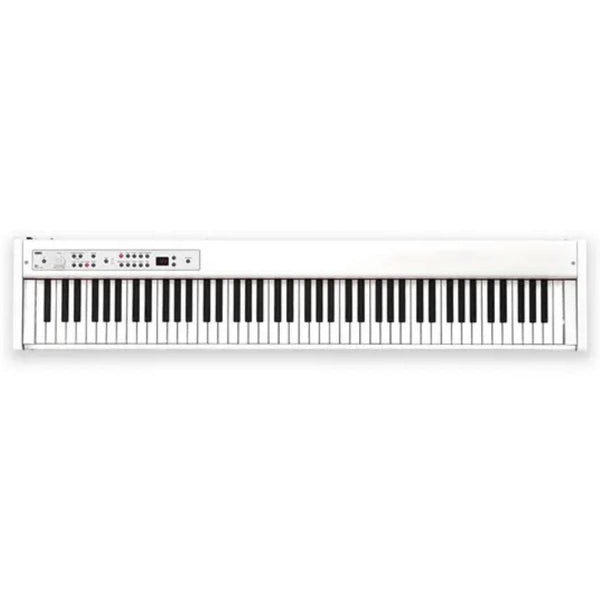 Korg D1 Digital Piano w/ RH3 Quality 88 Key Weighted Action (White)