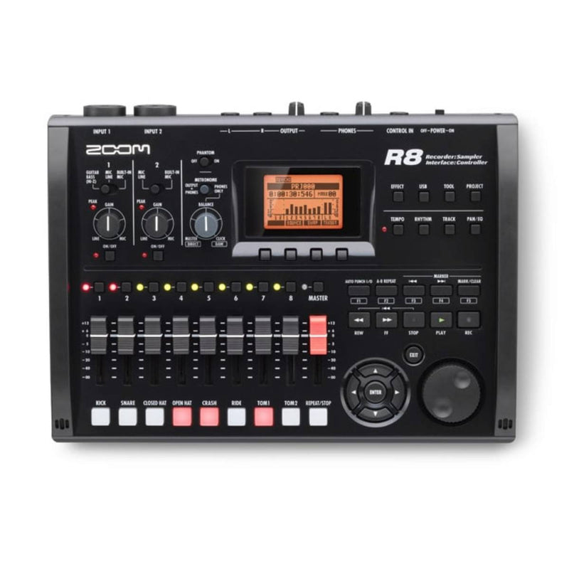 Zoom R8 Portable Multitrack Recorder