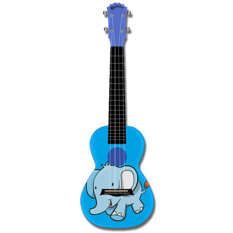 Kealoha Design Series Concert Ukulele with Blue ABS Resin Body