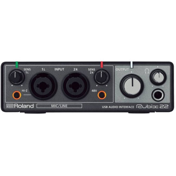 Roland Rubix 22 2-in/2-out High-Resolution USB Audio Interface for PC, Mac & iPad