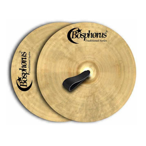 "Bosphorus Orchestral Series 16"" Symphonic Band Cymbals (Pair)"