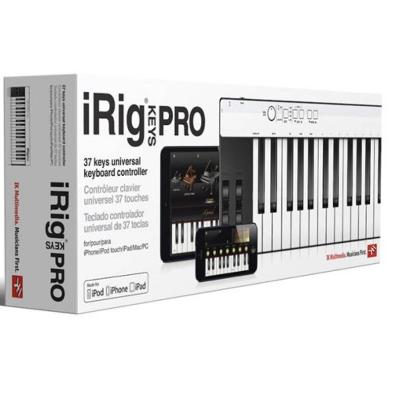IK Multimedia iRig Keys Pro Controller for iOS, Mac & PC