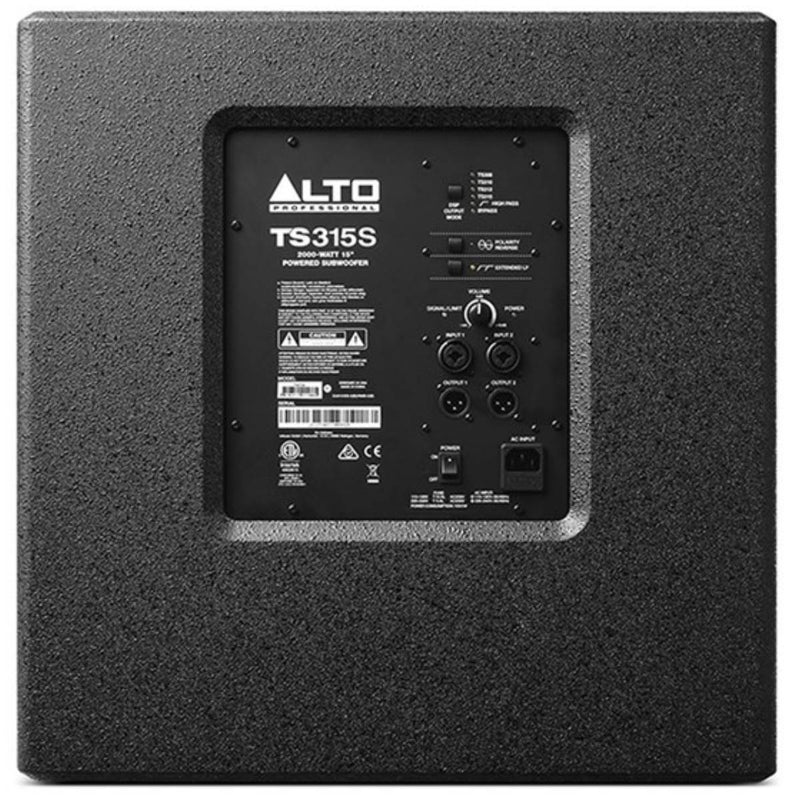 "Alto Truesonic TS315S 15"" 2000W Powered Subwoofer"