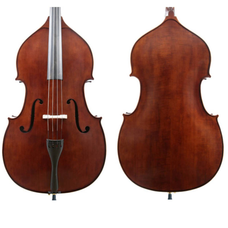 J Francis Double Bass Outfit-Solid Top & Back 3/4