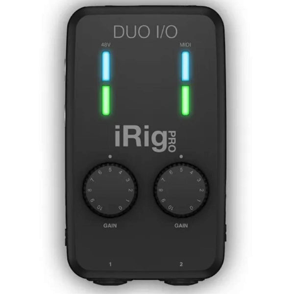 IK Multimedia iRig Pro Duo I/O 2 Channel Audio MIDI Interface