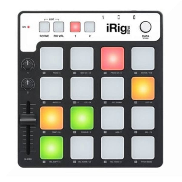 IK Multimedia iRig-Pads Pad Controller for iDevices PC and Mac