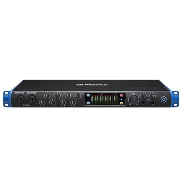 PreSonus Studio 1824c 18x20 USB-C Interface w/ Studio One Artist & Ableton Live Lite