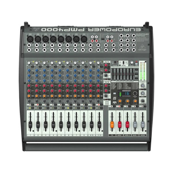 Behringer Europower PMP4000 1600W Powered Mixer w/ FX
