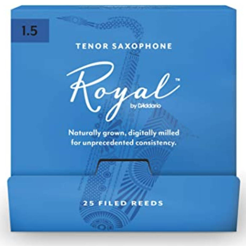 Rico Royal Tenor Saxophone Reeds (Box of 25)