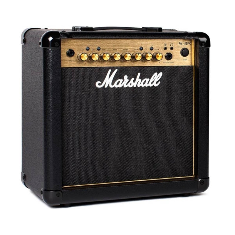Marshall MG15GFX MG Gold Series 15W Guitar Amplifier Combo w/ FX