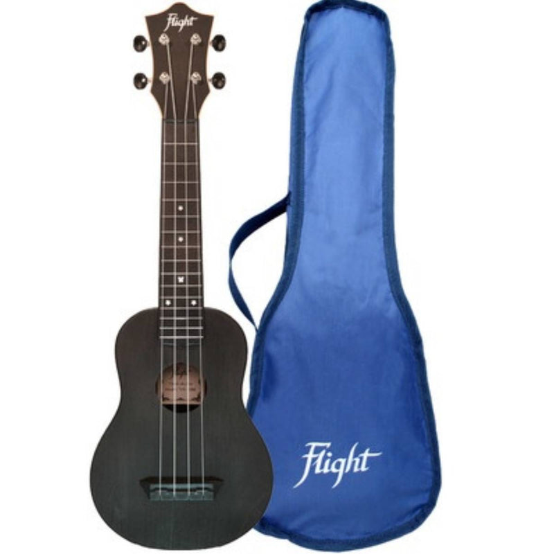 Flight TUS35 ABS Travel Ukulele Dark Blue + More Colours Available.