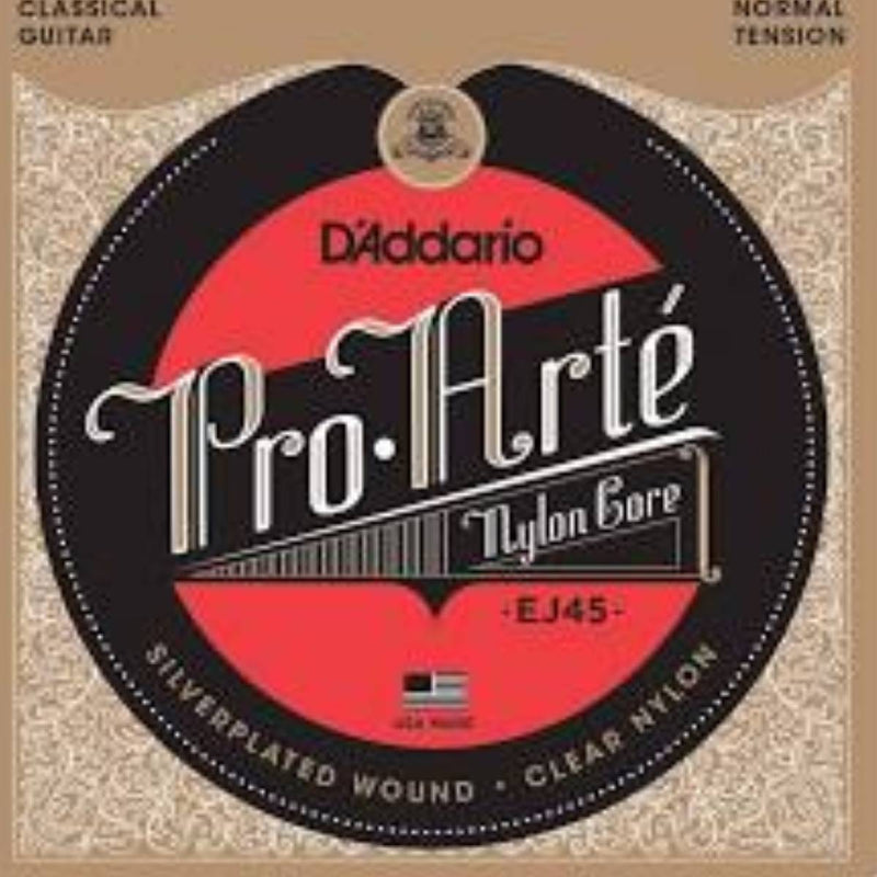 D'Addario EJ45 Pro-Arte Nylon Classical Guitar Strings - (Normal Tension)