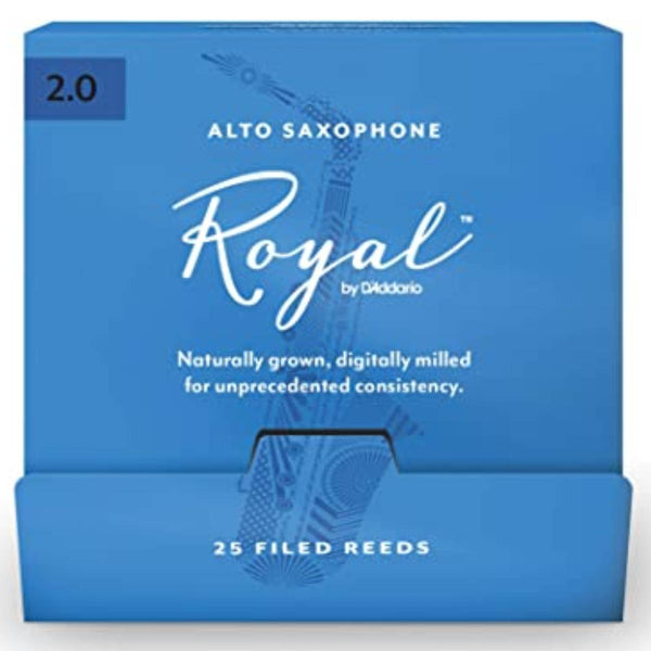 Rico Royal Alto Saxophone Reeds (Box of 25)