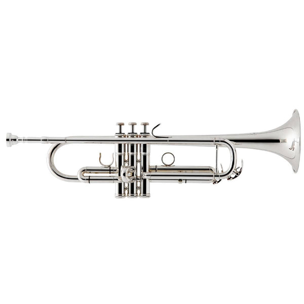 BESSON NEW STANDARD SERIES STUDENT TRUMPET, SILVER PLATED, Bb