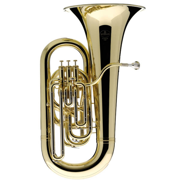 BESSON SOVEREIGN SERIES EEb TUBA OUTFIT, 4 VALVES COMPENSATING, LACQUER
