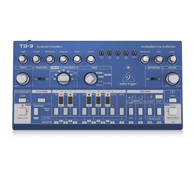 Behringer TD-3 Bass Line Synth Blue
