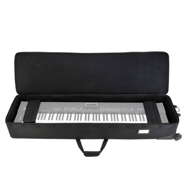SKB 1SKBSC88NKW 88-Note Narrow Keyboard Soft Case w/ Wheels