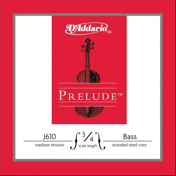 D'Addario Prelude Double Bass Strings 3/4