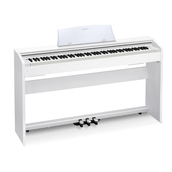 Casio Privia PX770WE 88 note digital piano - White w/matching bench!