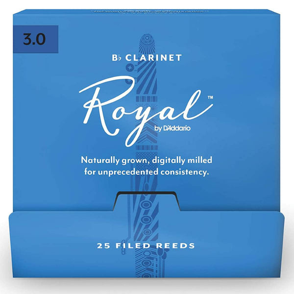 Rico Royal Clarinet Reeds (Box of 25)