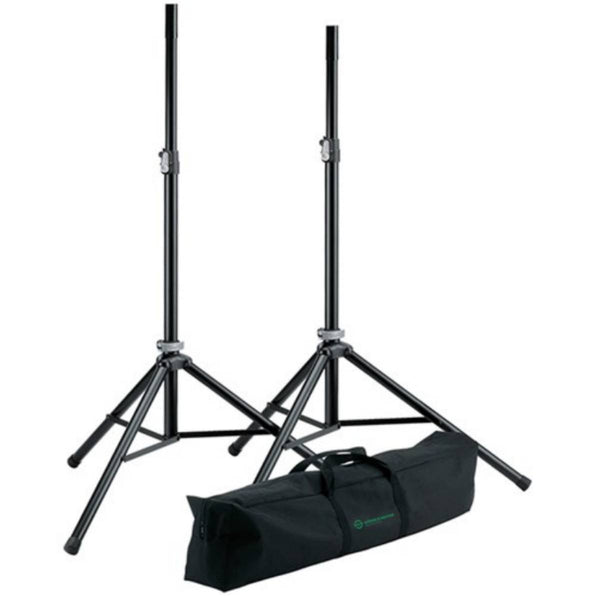 Konig & Meyer 21449 Speaker Stand Package w/ Bag