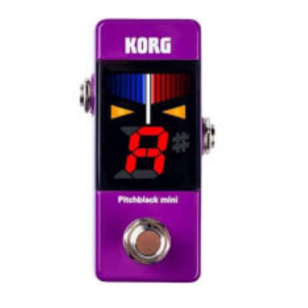 Korg PitchBlack Mini Pedal Tuner - Purple (KO-PBMINIPU)