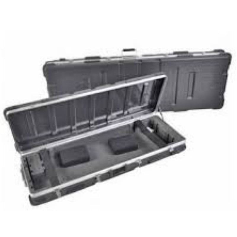 Xtreme KC88 ABS Keyboard Case with Wheels, 88 Keys