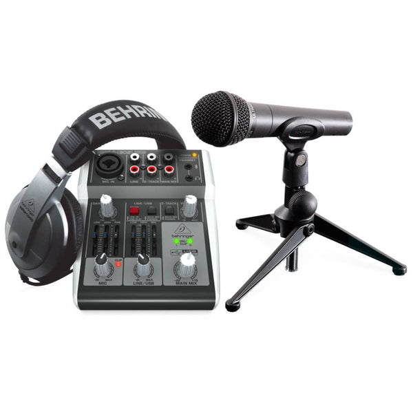 Behringer PODCASTUDIO 2 USB Recording Package