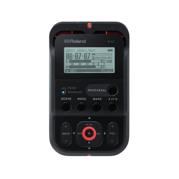 Roland R07 High-Resolution Audio Recorder (Black)