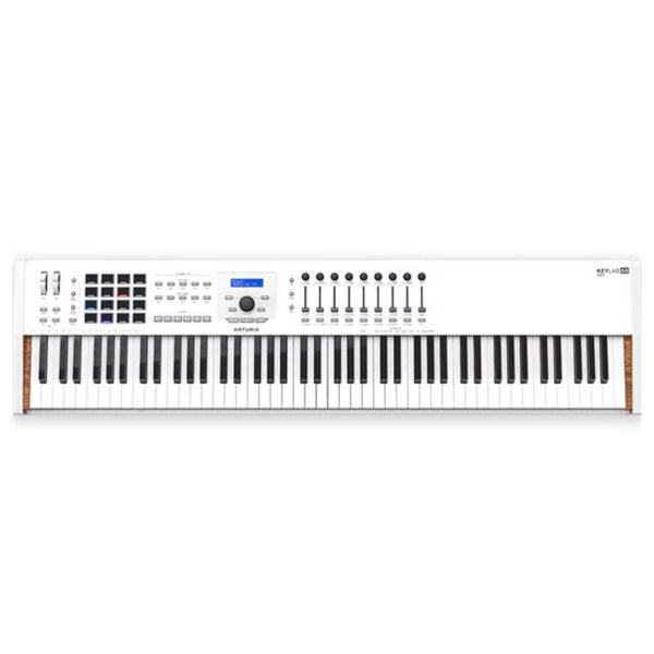 Arturia KeyLab Mk2 88-Key Hammer Action MIDI Controller w/ Aftertouch (White)