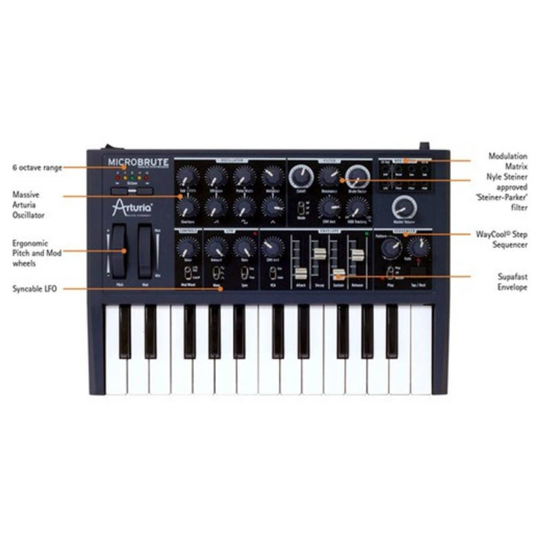 Arturia MicroBrute Analogue Mono-Synth
